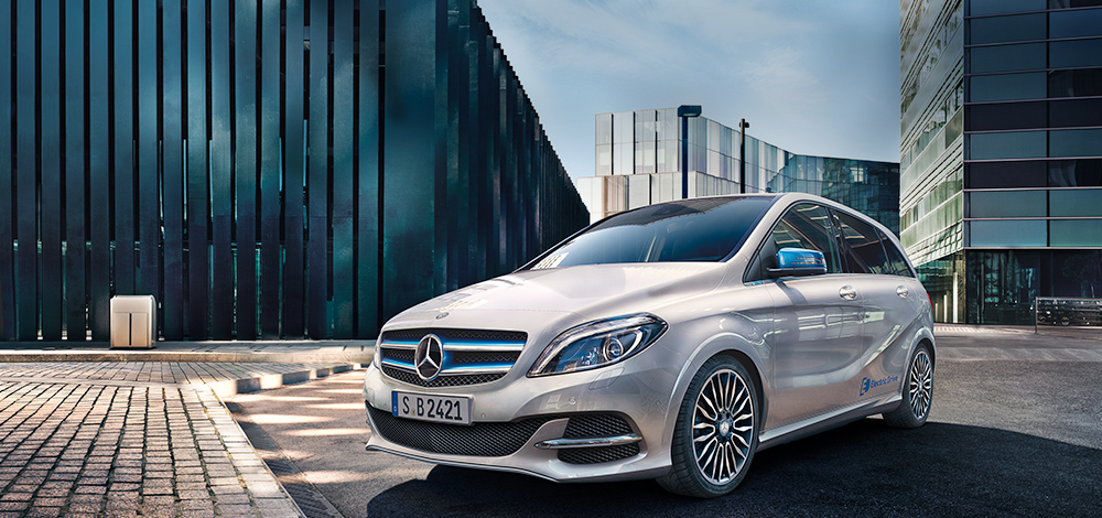 Mercedes Benz B Electric Drive
