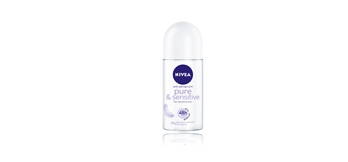 Nivea Pure and Sensitive Roll-On