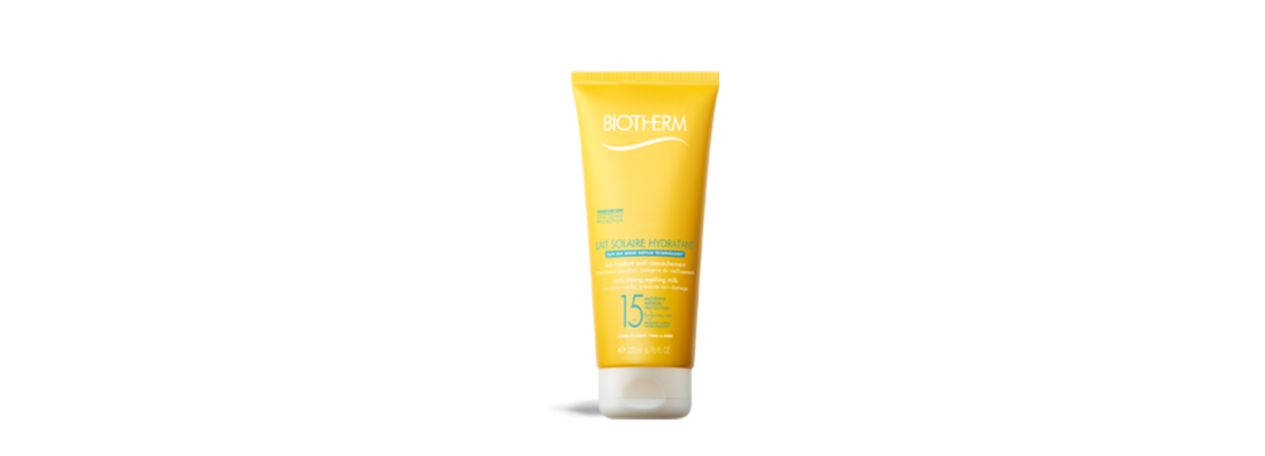 Biotherm Anti-drying melting milk face body SPF 15