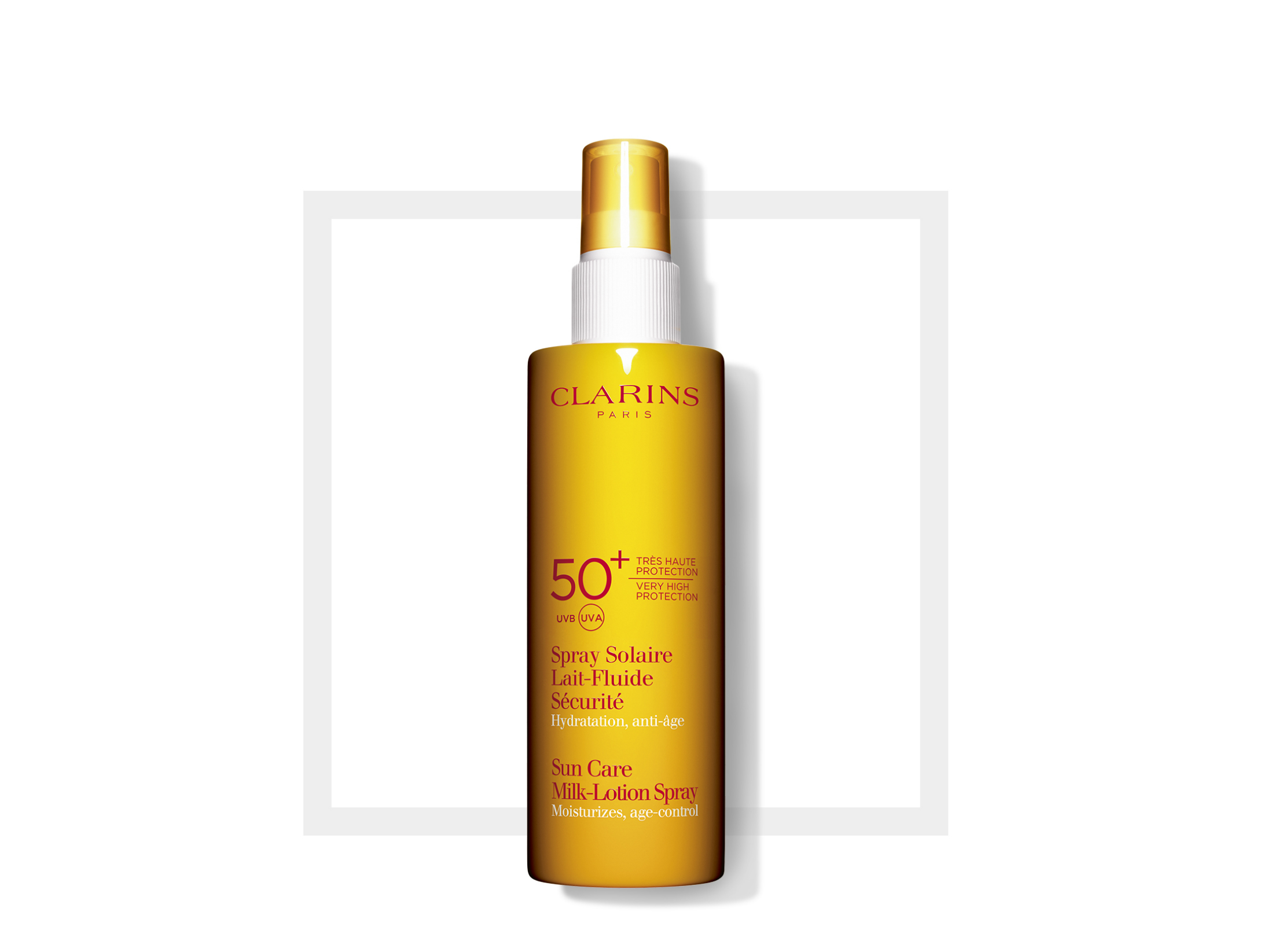 Clarins Sun care milk-lotion spray SPF 50