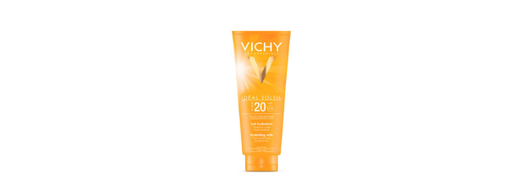 Vichy Idéal soleil hydrating milk face and body sensitive skin SPF 20